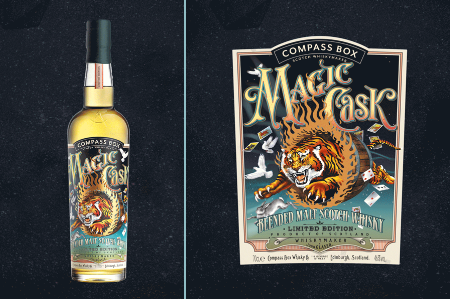 news:The Compass Box precocious whisky from a magic cask
