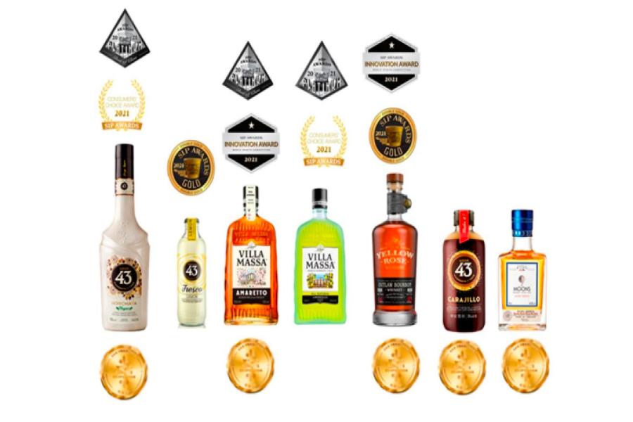 news:Gold rush in SFWSC for Zamora Group's spirits brands