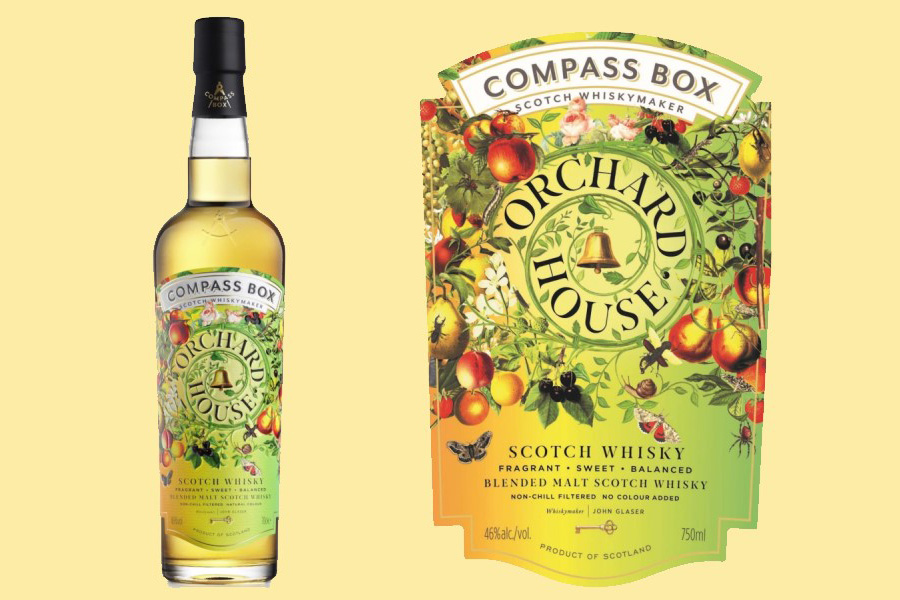 news:New to the Compass Box core range: Orchard House