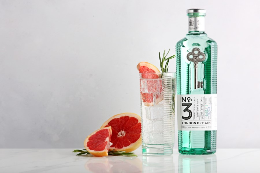 news:No.3 Gin wins 'The Classic G&T' award at the People's Choice Spirits Awards 2021