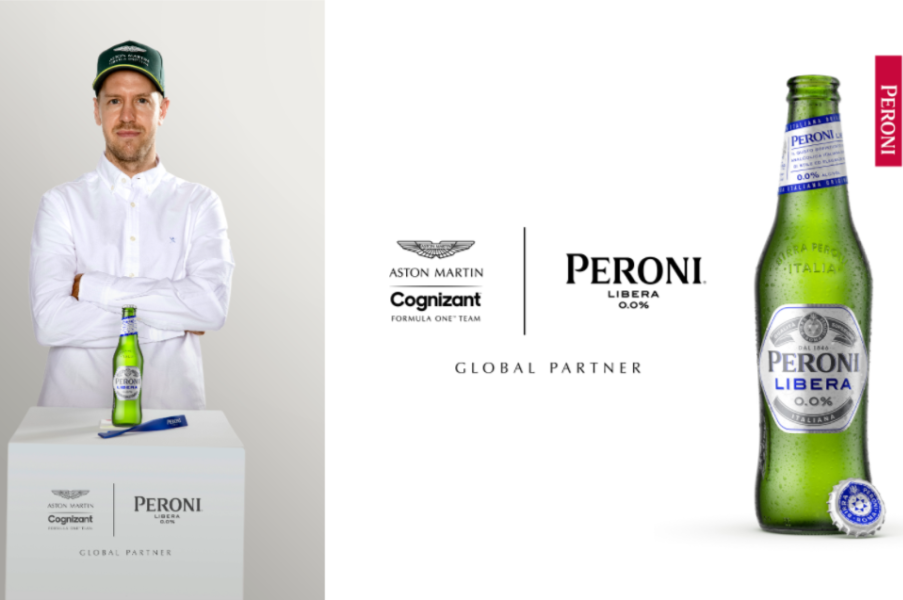 news:Peroni Libera 0.0% and Aston Martin Cognizant Formula One™️ Announce Multi-Year Partnership