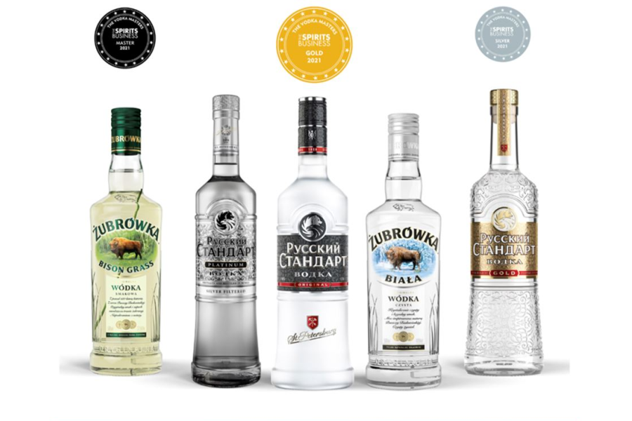 News:Roust's brands triumphantly win the highest medals at The Vodka Masters 2021